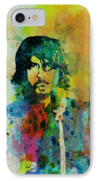 Foo Fighters IPhone Case by Naxart Studio