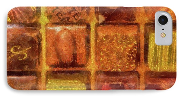 Food - Candy - Excellent Chocolates Phone Case by Mike Savad