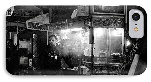 Food Vendor In Nyc IPhone Case