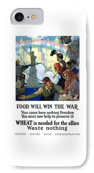 Food Will Win The War IPhone Case by War Is Hell Store