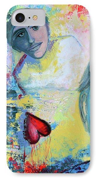 Foolish Love IPhone Case by Donna Blackhall