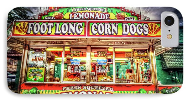 IPhone Case featuring the photograph Foot Long Corn Dogs by Spencer McDonald