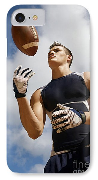 Football Athlete I Phone Case by Kicka Witte - Printscapes