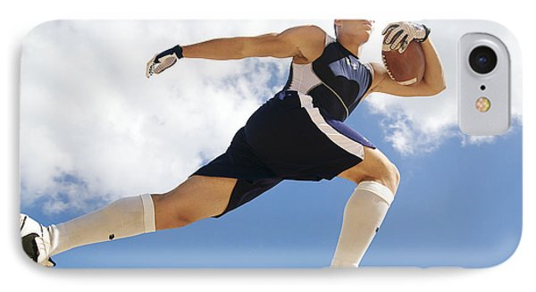 Football Athlete II Phone Case by Kicka Witte - Printscapes