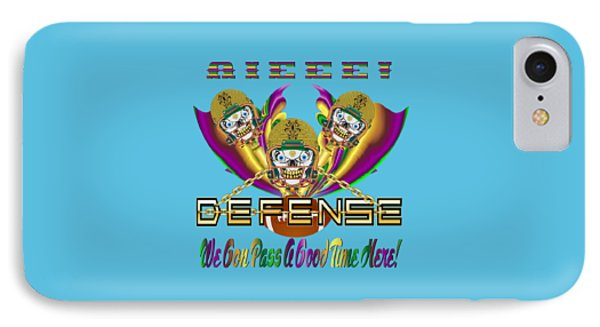 Football Defense 7 All Products IPhone Case