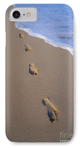 Footprints Phone Case by Don King - Printscapes