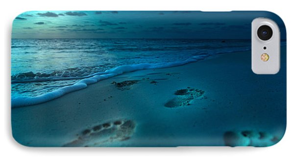Footprints To Paradise IPhone Case by Betsy Knapp