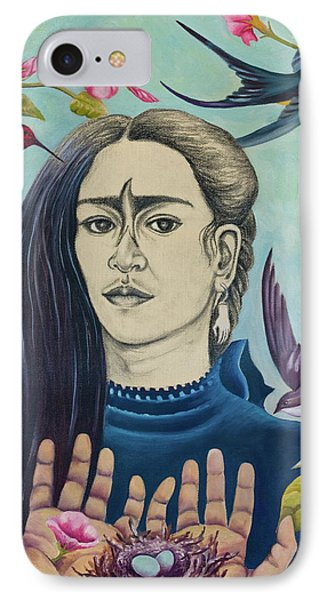 For Frida IPhone Case by Sheri Howe