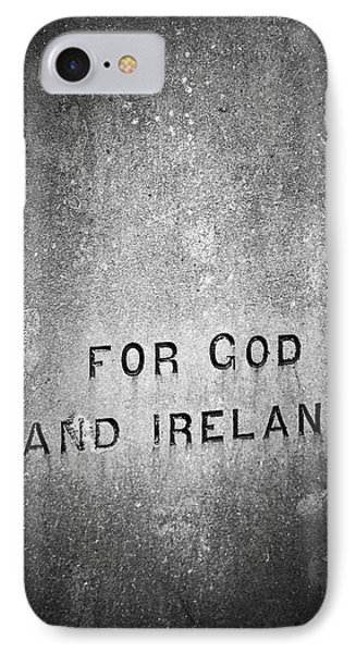 For God And Ireland Macroom Ireland Phone Case by Teresa Mucha