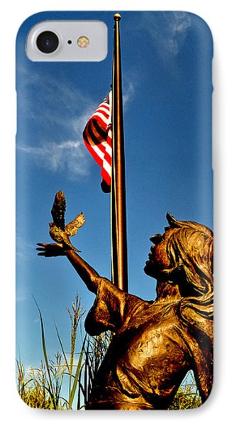 For Our Fallen IPhone Case by George Bostian