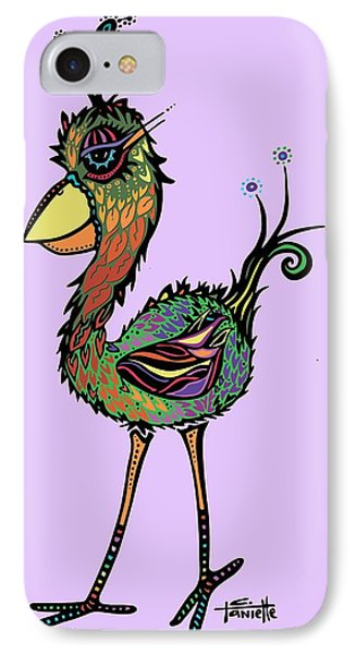 IPhone Case featuring the drawing For The Birds by Tanielle Childers
