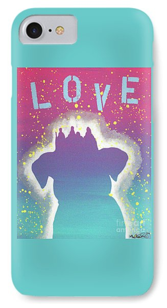 For The Love Of Pups IPhone Case by Melissa Goodrich