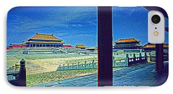 Forbidden City Porch Phone Case by Dennis Cox ChinaStock