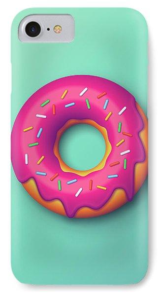 Forbidden Doughnut - Mint IPhone Case