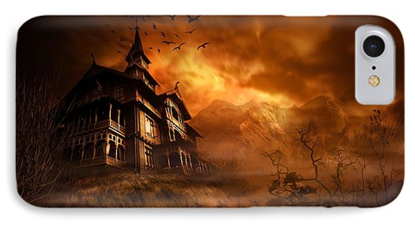 Forbidden Mansion Phone Case by Svetlana Sewell