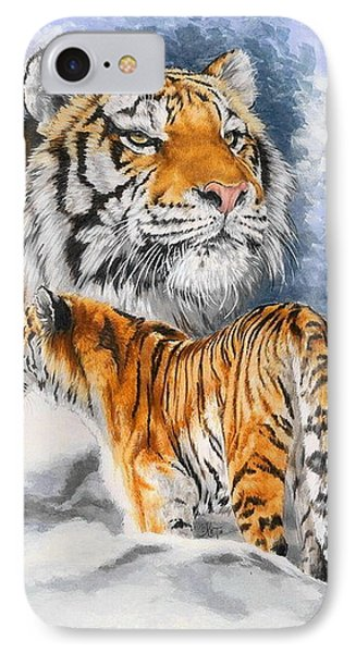 Forceful IPhone Case by Barbara Keith