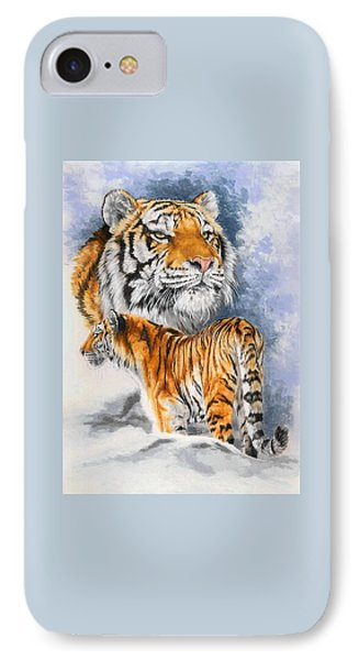 IPhone Case featuring the painting Forceful by Barbara Keith