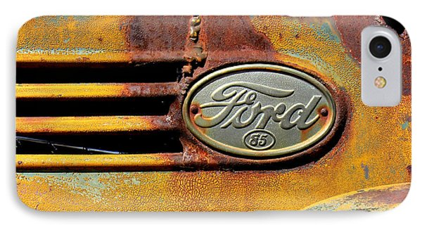 Ford 85 IPhone Case by Perry Webster