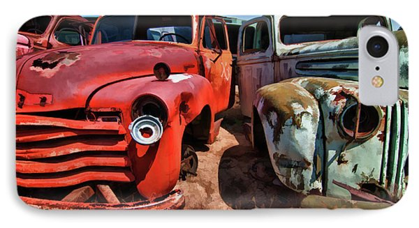 Ford And Chevy Standoff IPhone Case