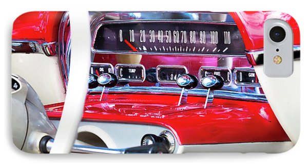 IPhone Case featuring the photograph Ford Dash by Chris Dutton