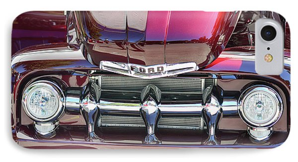 IPhone Case featuring the photograph Ford Detail by Bill Dutting