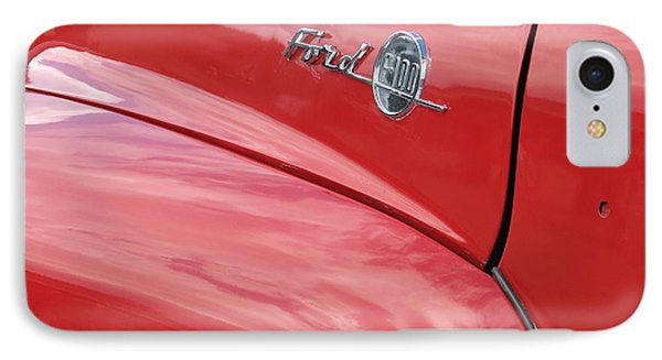 Ford F-100 Phone Case by Kelly Mezzapelle