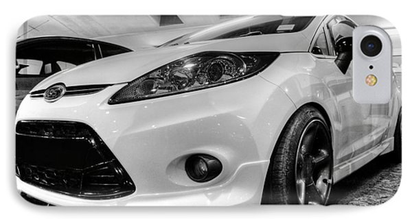 Ford Fiesta In Hdr Phone Case by Vicki Spindler