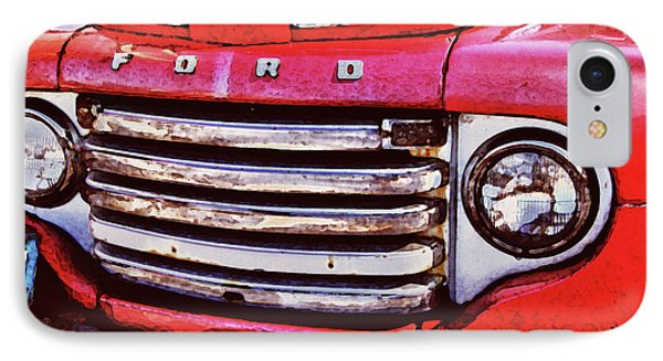 Ford Grille Phone Case by Michael Thomas