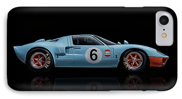 Ford Gt 40 IPhone Case by Douglas Pittman