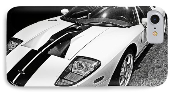 Ford Gt Black And White IPhone Case