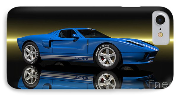 Ford Gt40 IPhone Case by Walter Colvin
