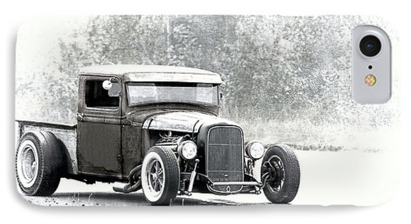 Ford Hot Rod IPhone Case by Athena Mckinzie