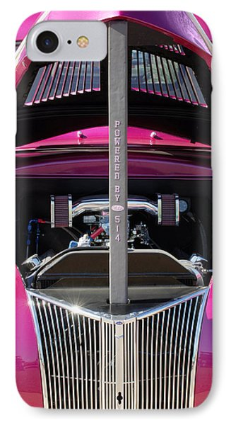 Ford Hot Rod Grille Phone Case by Jill Reger