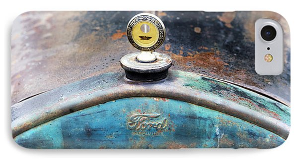 Ford Made In Usa Rat Rod IPhone Case by Tim Gainey