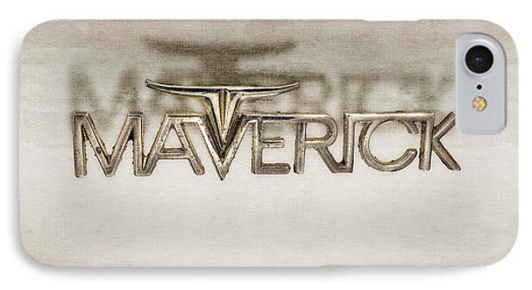 Ford Maverick Badge IPhone Case by YoPedro
