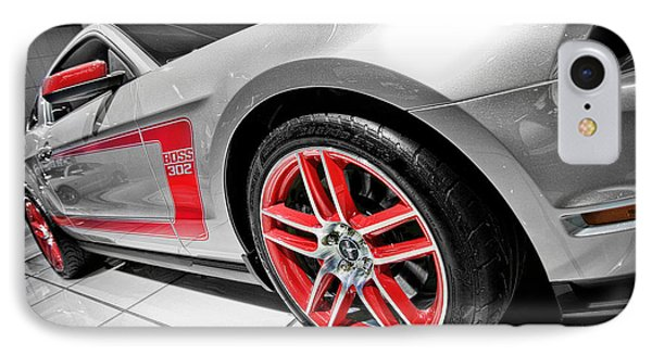 Ford Mustang Boss 302 IPhone Case by Gordon Dean II