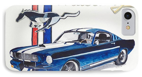 Ford Mustang IPhone Case by Eva Ason
