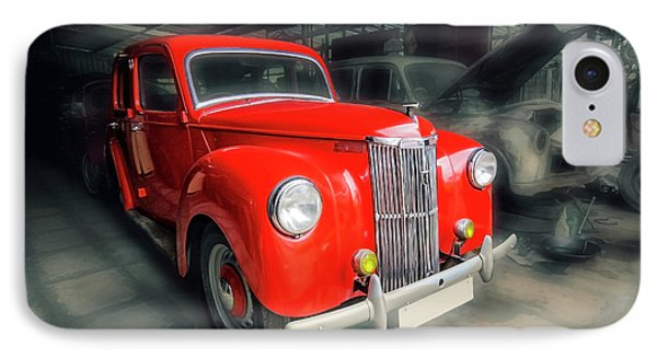 IPhone Case featuring the photograph Ford Prefect by Charuhas Images