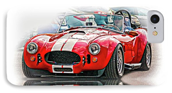 Ford/shelby Ac Cobra - Reflection IPhone Case