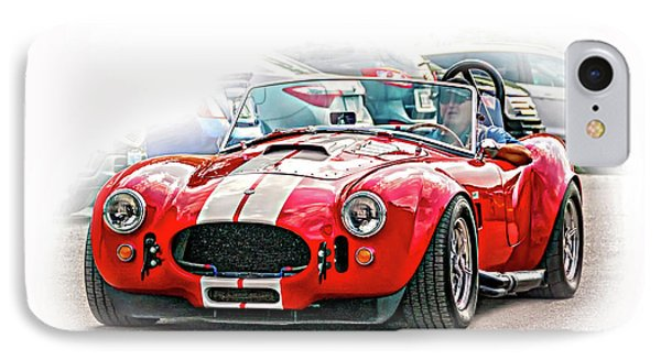 Ford/shelby Ac Cobra - Vignette IPhone Case