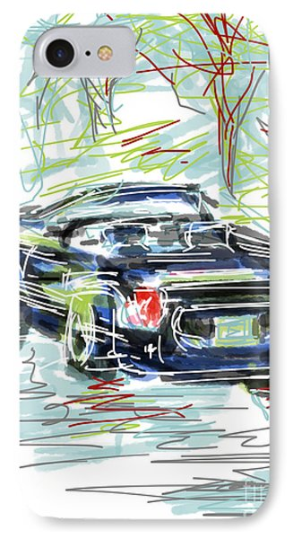 Ford Thunderbird Convertible IPhone Case by Robert Yaeger