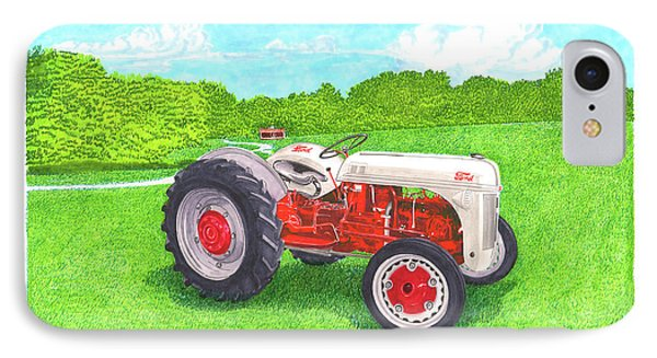 Ford Tractor 1941 IPhone Case by Jack Pumphrey