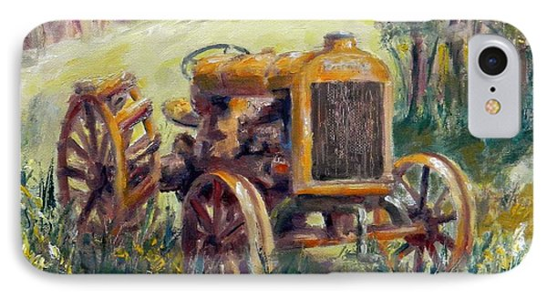 Fordson Tractor IPhone Case