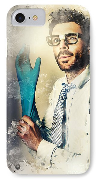 Forensic Analysis With Crime Scene Intelligence IPhone Case by Jorgo Photography - Wall Art Gallery