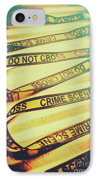 Forensic Csi Lab Details IPhone Case