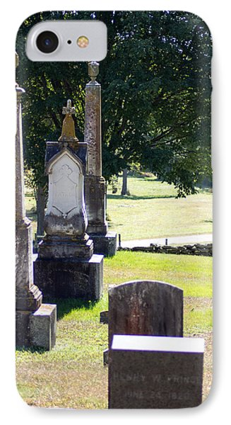 Foreside Cemetery 3 IPhone Case