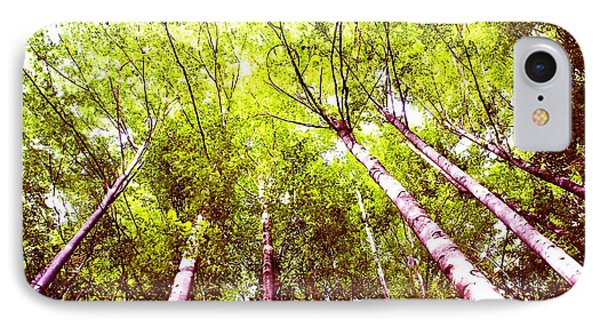 IPhone Case featuring the photograph Forest 2 by Jean Bernard Roussilhe