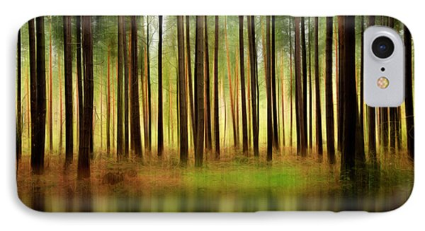 Forest Abstract Phone Case by Svetlana Sewell