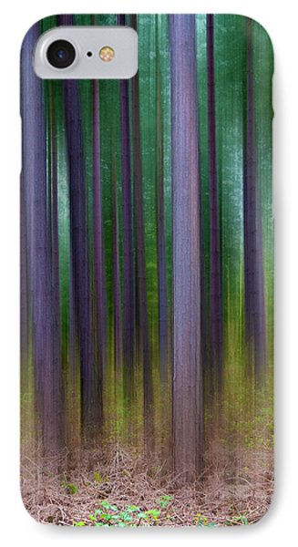 Forest Abstract02 Phone Case by Svetlana Sewell