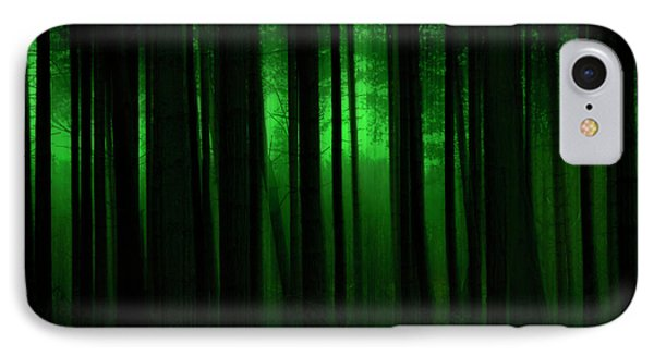 Forest Abstract03 Phone Case by Svetlana Sewell